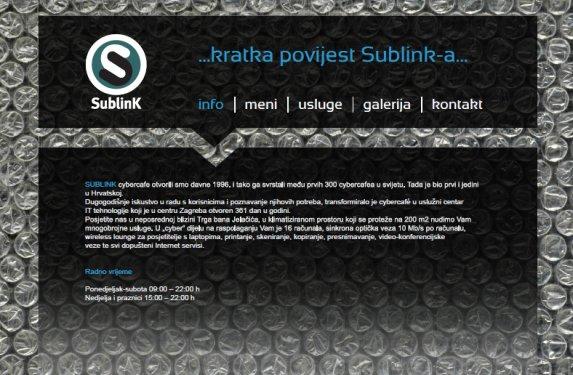 sublink dizajn html