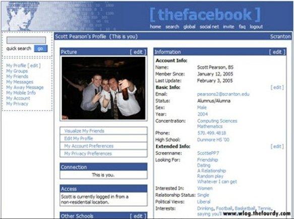 thefacebook profil