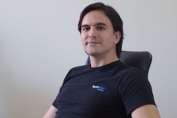 Nikola Sologub, direktor agencije Homepage