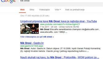 nik orosi google pretraga